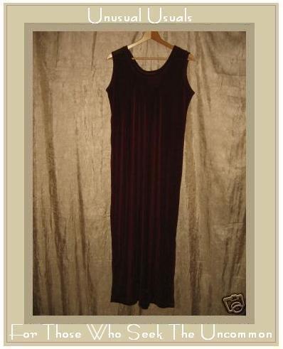 FLAX by Jeanne Engelhart Slinky Berry Knit Tank Dress Medium M