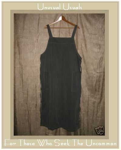 PELLINI Long Soft Gray Woven Jumper Jump Dress 1X