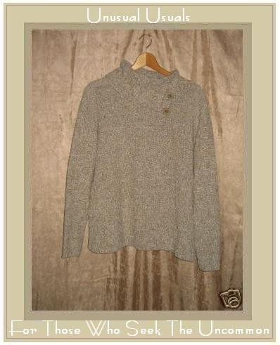 TANIA Soft Nubby Knit Turtleneck Sweater Top X-Large XL