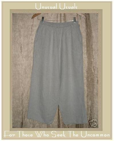 FLAX by  Angelheart Jeanne Engelhart LINEN FLOODS Pants Small S