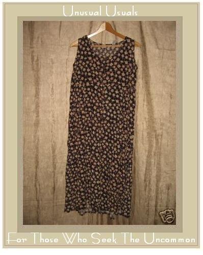 PUTUMAYO Long Brown Floral Dress X-Small XS