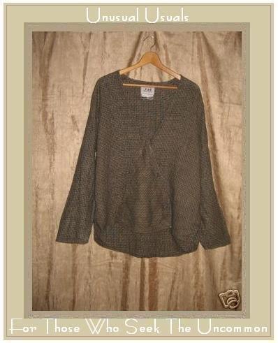 FLAX Jeanne Engelhart Linen Jacket Top Medium M