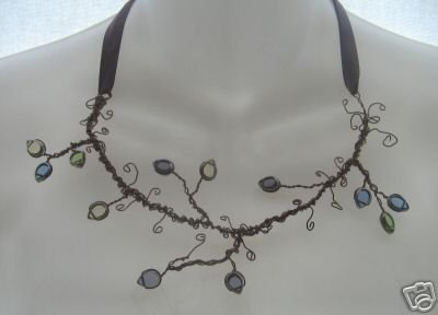 NEW Ever & Anon Whimsical Twisted Leaf Equinox Necklace