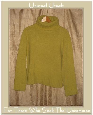 J. Crew Limey Wool Turtleneck Tunic Sweater Large L