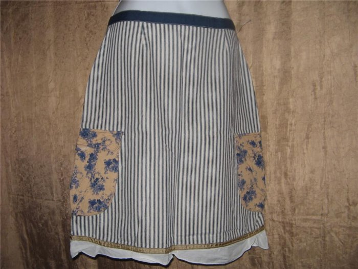 Neesh by D.A.R. Ribbon Trimmed Cargo Skirt Small S