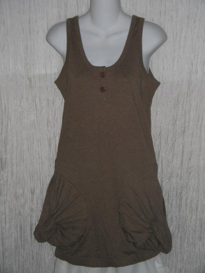 Steve Yoni Studio for Topshop Knit Lagenlook Tunic Top Dress Small S