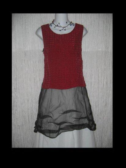 Kiko Comfortable Clothing Raspberry Bemberg Rayon Tank Top M