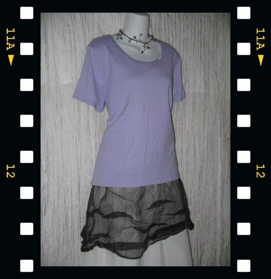 J. JILL Soft Purple Cotton Knit Pullover Shirt Top X-Large XL
