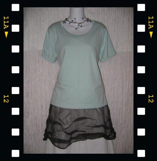 J. JILL Soft Robbins Egg Blue Knit Pullover Shirt Top X-Large XL