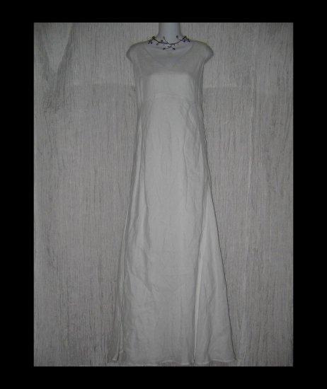 NWT Banana Republic Elegant Long White Linen Dress 12
