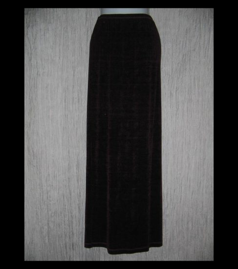 Donna Jessica Long Slinky Purple Skirt Size 2 Large L
