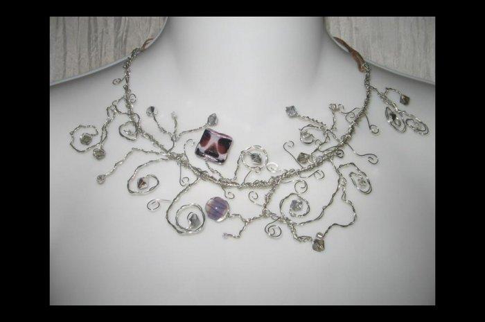 NEW Ever & Anon 'Taureau Et La Lune' on a Starry Night Necklace