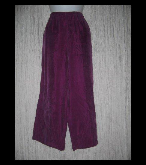 Monika Turtle Studio Boutique Soft Fuschia Rayon Wide Leg Pants X-Large XL