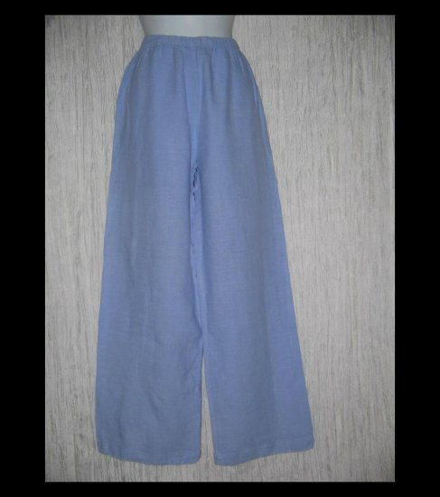 CLICK by Color Me Cotton CMC Lilac LINEN Floods Pants Medium M