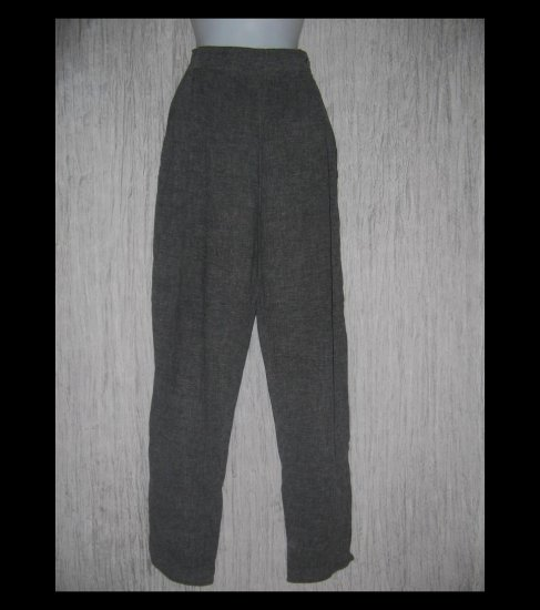 Angelheart Designs by Jeanne Engelhart Long Gray Trousers Pants Small S