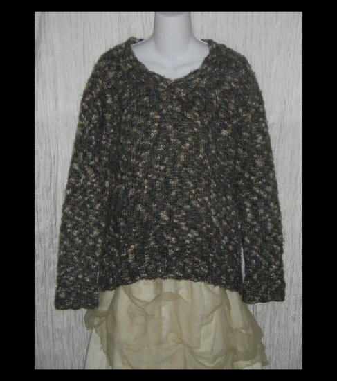 GAP Soft Mottled Earth Tone Nubby Knit Pullover Sweater X-Large XL