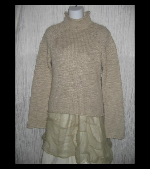 J. Crew Soft & Cozy Caramel Turtleneck Sweater Top Medium M