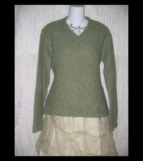 J.  Crew Seafoam Green Nubby Knit Pullover Sweater Top Medium M