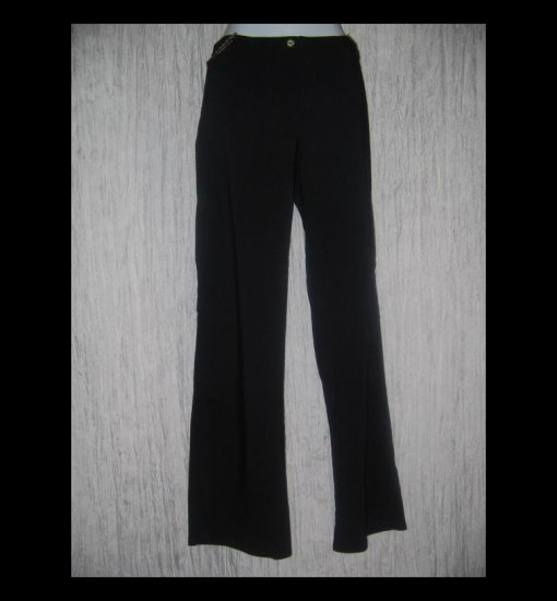 Neesh by D.A.R. Shapely Black Wide Leg Pants Medium M