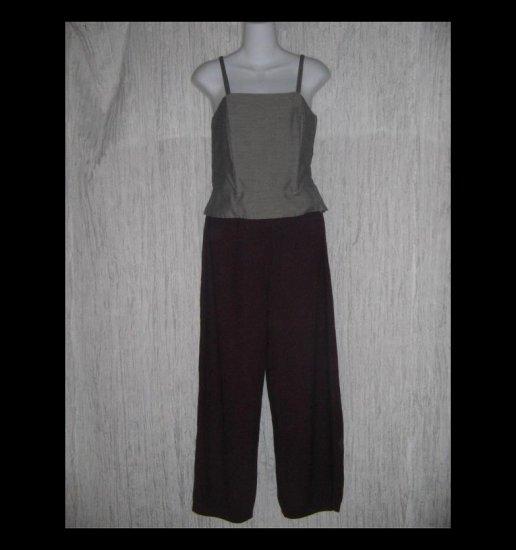 Stephanie Schuster for Princess Knitwear Berry Wine Knit Pants Medium M