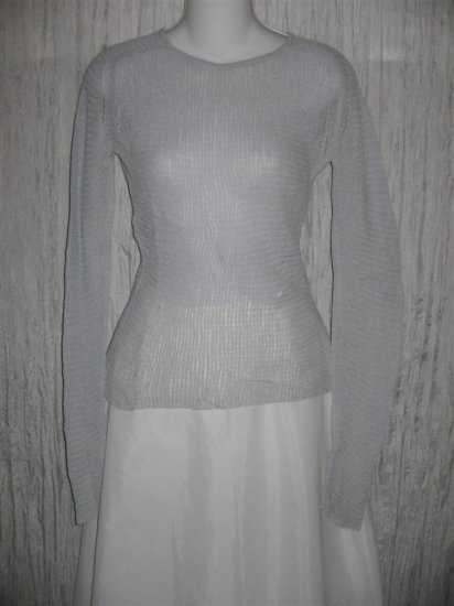 Banana Republic Light Blue Knit Pullover Sweater Top Small S