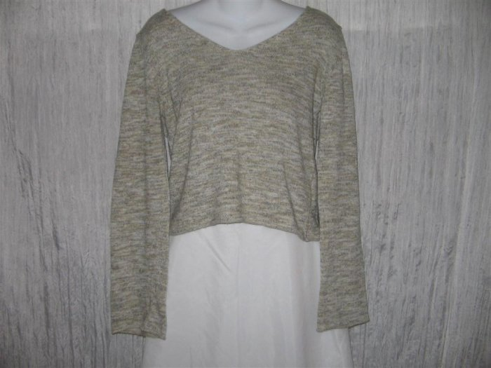 Kookai Boutique Gray Knit Pullover Sweater Top 2 M
