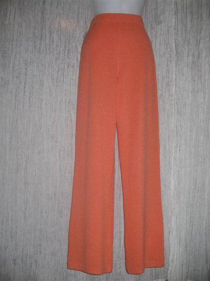 NWT ST. JOHN Collection by Marie Gray Lean Orange Knit Pants 6
