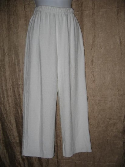 Stephanie Schuster for Princess Knitwear White Knit Pants Small S