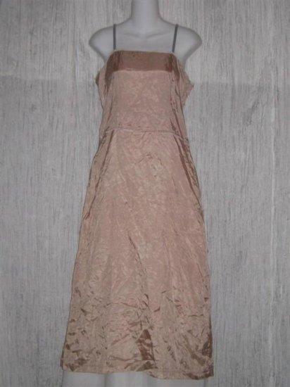 Neesh by D.A.R. Pink Slinky Velvet Ribbon Slip Dress Medium M