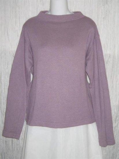 CUT LOOSE Soft Purple Knit Pullover Top Shirt Medium M