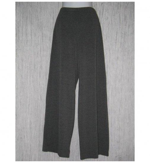New J. Jill Soft Gray Rayon Knit Straight Pants Large L