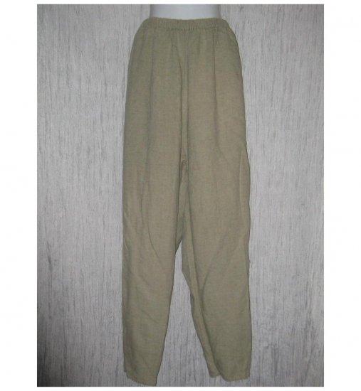 Jeanne Engelhart FLAX Natural LINEN Pants Generous G