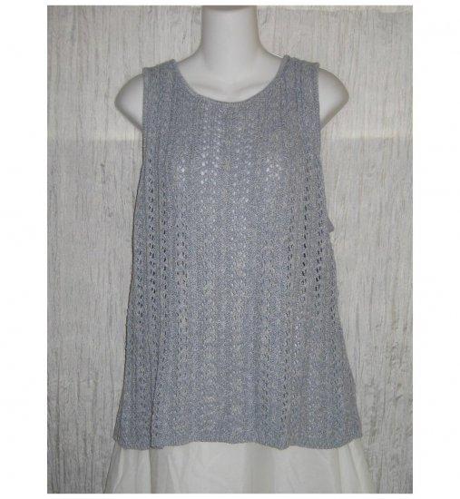 NWT Company Ellen Tracy Blue Knit Sweater Tank 2X