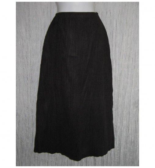 J. Jill Long Elegant Shapely Soft Crinkly Skirt 0 Petite 0P