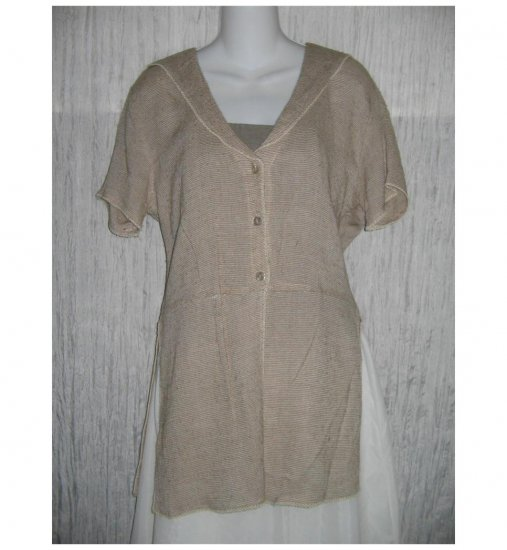 Dick & Jane Long Boutique Tunic Top Jacket Small S