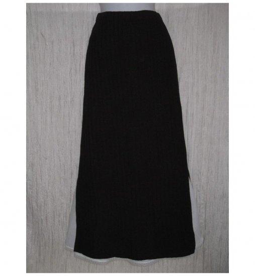 Stephanie Schuster for Princess Knitwear Brown Skirt Medium M