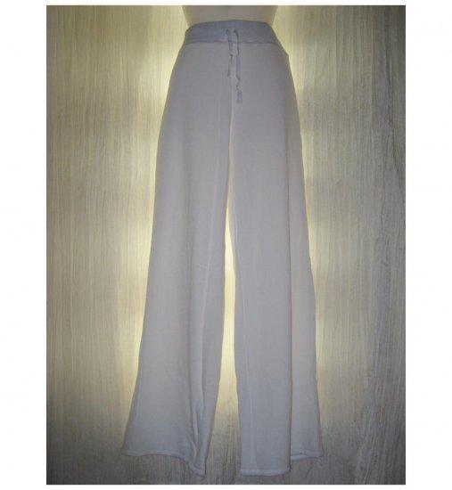 NEW J. Jill White Cotton Knit Drawstring Pants Medium M