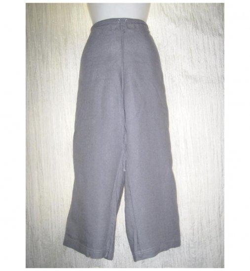 SOLITAIRE Blue LINEN Drawstring Pants X- Large XL