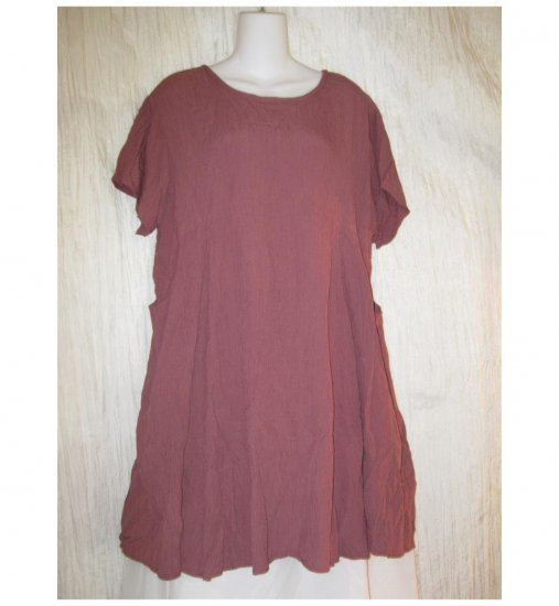 R-Clan by Jeanne Engehart Rose Trimmed Tulip Dress Flax Medium M