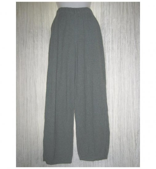 Stephanie Schuster for Princess Knitwear Gray Knit Pants Small Petite SP