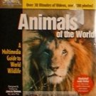 Wildlife Animals of the World Multimedia PC CD Guide New