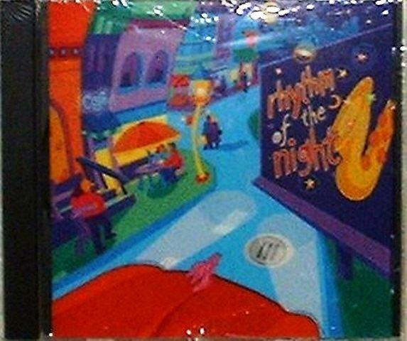 Rhythm of the Night New Music CD by Eric Darken