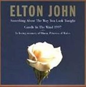 Elton John Wales Princess Diana Memorabilia Music CD New