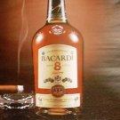 Bacardi Rum Magazine Ad Ron  8 Anos New