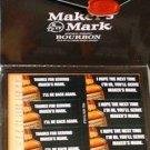 Makers Mark Kentucky Bourbon Receipt Stickers Set