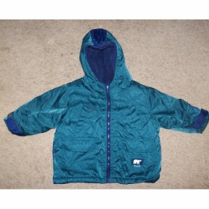 THE CHILDREN'S PLACE Green Insulated Jacket 24 months