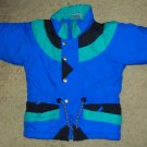 Blue and Green THE RUGGED BEAR Winter Jacket Parka Boys Size 3