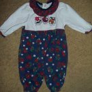 HEALTHTEX Flowers Apple and Acorns Romper Girls 0-5 months