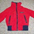 Red LANDS END Winter Jacket Parka Boys Size 4 SMALL