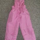 Pink Overalls Ski Snow Pants Girls Size 2T